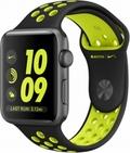 Apple Apple Watch Series2 Nike+ 42mmスペースグレイアルミニウム/ブラック/ボルトNikeスポーツバンド