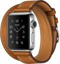 AppleApple Watch HERMES Series2 38mm ドゥブルトゥール ヴォーバレニア(フォーヴ)レザー MNTQ2J/A