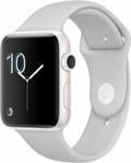 AppleApple Watch Edition Series2 42mm ホワイトセラミックケース/クラウドスポーツバンド MNUC2J/A