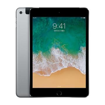 AppleSoftBank 【SIMロック解除済み】 iPad mini4 Cellular 128GB スペースグレイ MK762J/A