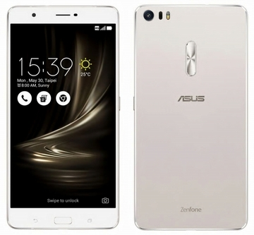 ASUSZenFone 3 Ultra 4GB 64GB シルバー (海外版SIMロックフリー) ZU680KL