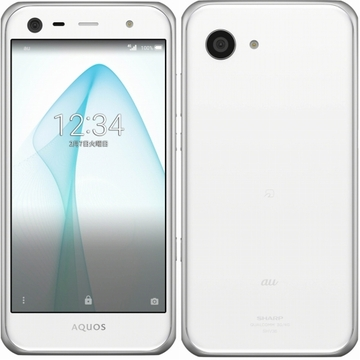 SHARP au AQUOS SERIE mini SHV38 ホワイト