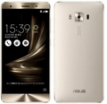 ASUSZenFone 3 Deluxe 5.7インチ 6GB 64GB シルバー (海外版SIMロックフリー) ZS570KL