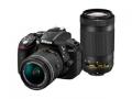 Nikon D5300 AF-P ダブルズームキット ブラック