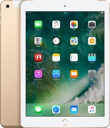 au iPad(第5世代/2017) Cellular 32GB ゴールド MPG42J/A