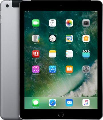 au iPad(第5世代/2017) Cellular 128GB スペースグレイ MP262J/A