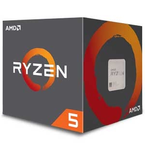 AMDRyzen 5 1500X(3.5GHz/TC:3.7GHz)BOX AM4/4C/8T/L3 16MB/TDP65W