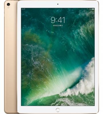 au iPad Pro 12.9インチ(第2世代) Cellular 64GB ゴールド MQEF2J/A