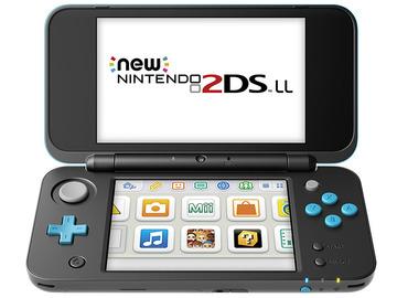 NintendoNewニンテンドー2DS LL ブラック×ターコイズ JAN-S-BAAA