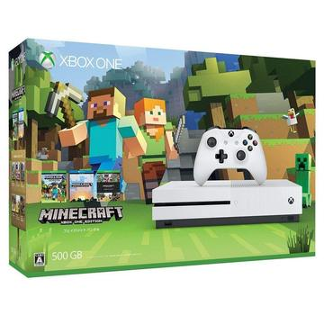 MicrosoftXbox One S 500GB (Minecraft 同梱版) ZQ9-00068
