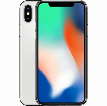Appledocomo 【SIMロック解除済み】 iPhone X 256GB シルバー MQC22J/A