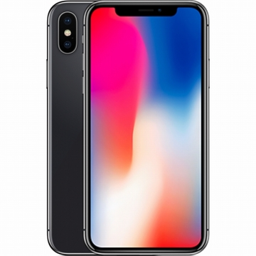AppleiPhone X 64GB スペースグレイ (国内版SIMロックフリー) MQAX2J/A