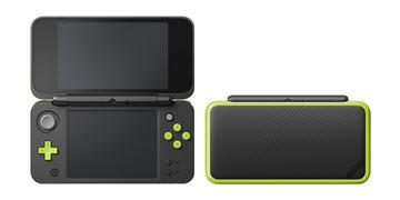 NintendoNewニンテンドー2DS LL ブラック×ライム JAN-S-MAAA