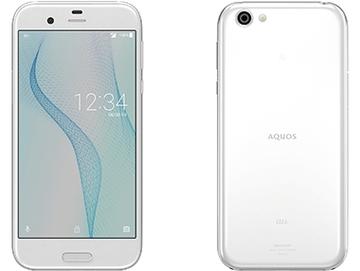 SHARPau 【SIMロック解除済み】 AQUOS R SHV39 ジルコニアホワイト
