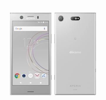 SONYdocomo 【SIMロック解除済み】 Xperia XZ1 Compact SO-02K White Silver