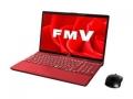 Fujitsu LIFEBOOK AH AH53/B3 FMVA53B3R ガーネットレッド