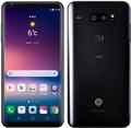 LG電子 au 【SIMロック解除済み】 isai V30+ LGV35 オーロラブラック