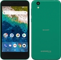 SHARP ymobile Android One S3 ターコイズ S3-SH