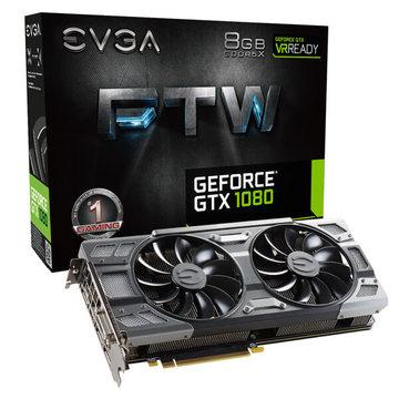 EVGAGeForce GTX 1080 FTW GAMING ACX(08G-P4-6286-KR) GTX1080/8GB(GDDR5X)/PCI-E