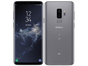 SAMSUNGau Galaxy S9+ SCV39 チタニウム グレー