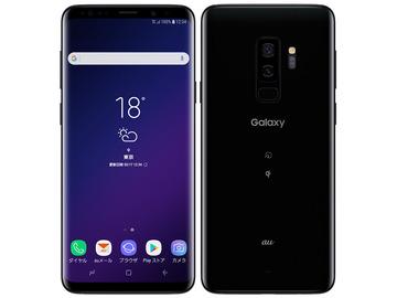 SAMSUNGau Galaxy S9+ SCV39 ミッドナイト ブラック