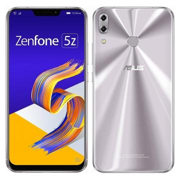 ASUSZenFone 5Z 6GB 128GB スペースシルバー (国内版SIMロックフリー) ZS620KL-SL128S6