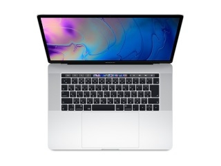 AppleMacBook Pro 15インチ 2.2GHz Touch Bar搭載 256GB シルバー MR962J/A (Mid 2018)