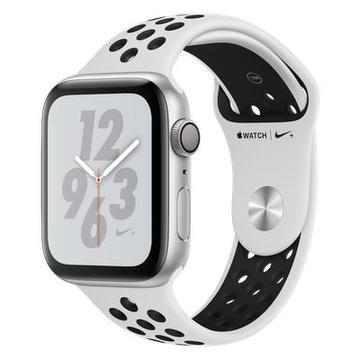 AppleApple Watch Series4 Nike+ 44mm GPS シルバーアルミ/ピュアプラチナム/ブラックスポーツバンド MU6K2J/A
