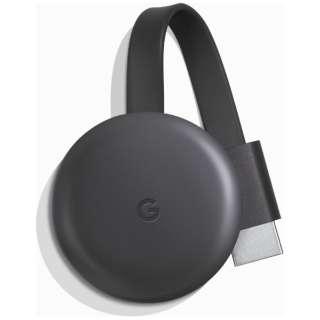 GoogleChromecast(2018) チャコール GA00439-JP(国内モデル)
