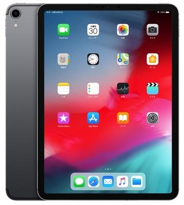 Appledocomo 【SIMロック解除済み】 iPad Pro 11インチ(第1世代) Cellular 64GB スペースグレイ MU0M2J/A