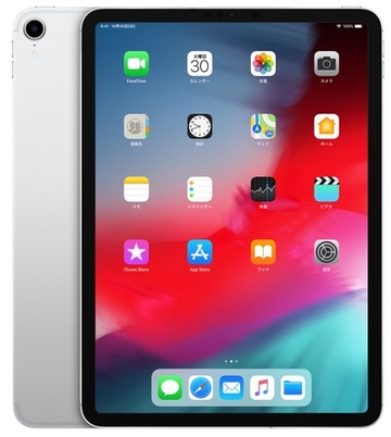 Apple SoftBank iPad Pro 11インチ Cellular 64GB シルバー MU0U2J/A