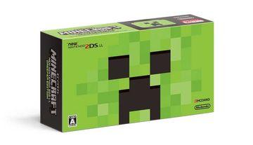 NintendoNewニンテンドー2DS LL MINECRAFT CREEPER EDITION