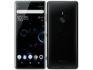 SONYSoftBank 【SIMロック解除済み】 Xperia XZ3 801SO ブラック
