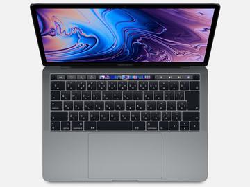 AppleMacBook Pro 13インチ 2.4GHz Touch Bar搭載 256GB スペースグレイ MV962J/A (Mid 2019)