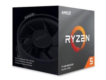 AMDRyzen 5 3600X(3.8GHz/TC:4.4GHz) BOX AM4/6C/12T/L3 32MB/TDP95W