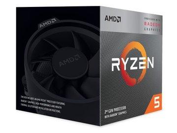 AMDRyzen 5 3400G(3.7GHz/TC:4.2GHz) BOX AM4/4C/8T/L3 4MB/Radeon Vega 11/TDP65W