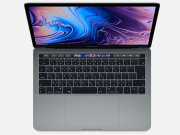 AppleMacBook Pro 13インチ 1.4GHz Touch Bar搭載 256GB スペースグレイ MUHP2J/A (Mid 2019)