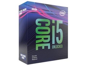 IntelCore i5-9600KF(3.7GHz/TB:4.6GHz/SRG12/R0)BOX LGA1151/6C/6T/L3 9M/No iGPU/TDP95W