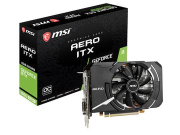 MSIGeForce GTX 1660 SUPER AERO ITX OC GTX1660Super/6GB(GDDR6)/PCI-E