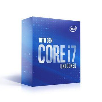 IntelCore i7-10700K (3.8GHz/TB:5.1GHz) BOX LGA1200/8C/16T/L3 16M/UHD630/TDP125W