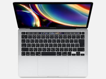 AppleMacBook Pro 13インチ 2.0G/512GB シルバー MWP72J/A (Mid 2020)