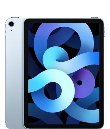 AppleSoftBank 【SIMロックあり】 iPad Air(第4世代/2020) Cellular 256GB スカイブルー MYH62J/A