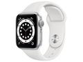 Apple Apple Watch Series6 40mm GPS シルバーアルミ/スポーツバンド ホワイト S/M&M/L