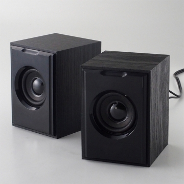 3R3R-KCSP02BK USB電源スピーカー ブラック