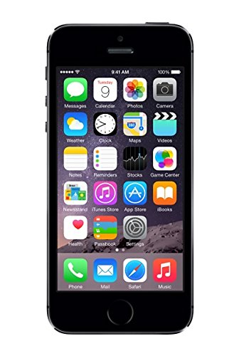 Apple au iPhone 5s 16GB スペースグレイ ME332J/A