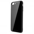 LibraTPUGC8P-BK iPhone8Plus ガラスケース ブラック