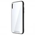 LibraTPUGCX-WH iPhoneX ガラスケース ホワイト