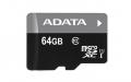 A-DATAAUSDX64GUICL10-RA1 64GB microSDXC Class10 UHS-I