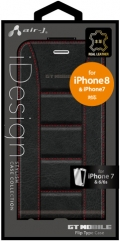air-JAC-P7-GTF4 GT MOBILE 本革フリップケース iPhone8/7/6s/6用