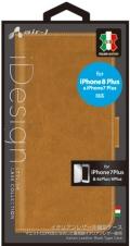 air-JAC-P7P-LBX CA iPhone8Plus/7Plus/6sPlus/6Plus兼用 イタリアンレザー手帳型ケース